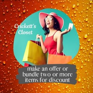 Make An Offer or Bundle Two + Items For A Discount